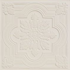206 Faux Tin Ceiling Tile 🥇 Talissa Decor - Wide Selection of Ceiling Tiles Plastic Ceiling Tiles, Drop Ceiling Tiles, Faux Tin Ceiling Tiles, Tin Tiles, Glitter Ceiling, Gold Ceiling, White Ceiling, Ceiling Medallions, Ceiling Design