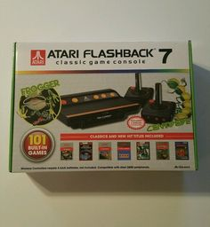 Atari Flashback 7 Classic Game Console With 2 Controllers Cheapest