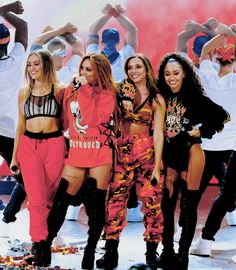 Little Mix at the KCAs 2017 (kids Choice Awards) performing Touch - Shout Out to my Ex