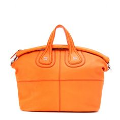 """The Perfect way to accessorize the Orange trend. """"Nightingale"""" from Givenchy // www.empressofstyle.com"""
