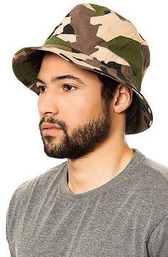 The Mediums Bucket Hat in Camo