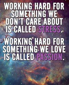 Work hard for passion #startup #entrepreneur #markentreibstoff