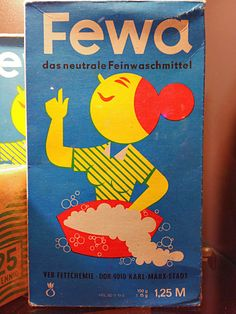 Vintage DDR packaging