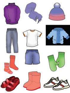 Cadeau Parents, Winter Outfits, Kids Outfits, Preschool Worksheets, Early Childhood Education, Everyday Objects, Science And Nature, Teaching English, Pre School