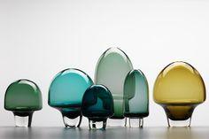 Glass Garden by Amanda Dziedzic #Glass #Sculpture #Amanda_Dziedzic