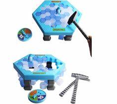 Interactive Ice Breaking Table Penguin Trap Children