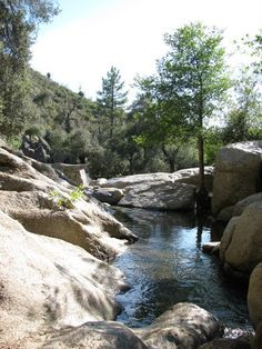Green Valley Falls, Cuyamaca Rancho State Park, Descanso, CA