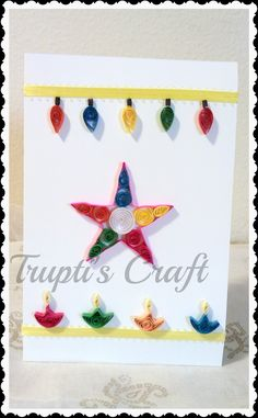 Cards crafts kids projects diwali pop up cards and template truptis craft diwali cards m4hsunfo