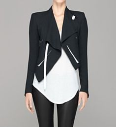 Helmut Lang: Sugar Cropped Jacket