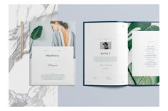 Filmore Fashion Proposal is a beautifully presented project proposal for a modern brand. It covers all aspects of a product pitch including brief, case-studies, timeline and estimate.