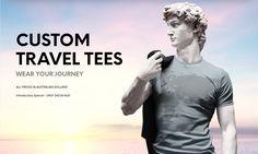 Custom Travel Tees – Wear Your Journey