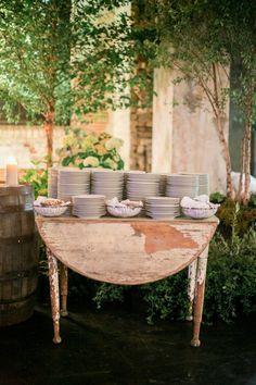 OSG Real Wedding: D + J @ Aria || On Solid Ground Vintage Rentals || Studio Fleurette || Geneoh Photography