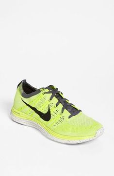 Nike Flyknit One  Womens Running Shoes 554888 (8, NEON YELL) >>> You can find more details by visiting the image link.