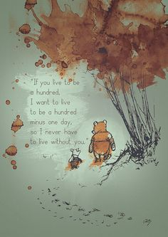 Winnie the Pooh Quote and Illustration