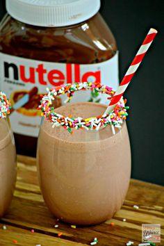 How To Make a Nutella Milkshake Recipe