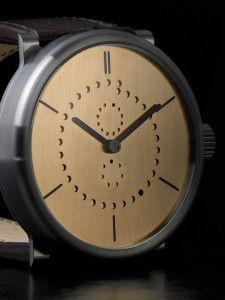 d2090d1d59 Calendario- reloj de pulsera de lujo hecho en madera por Ochs und Junior muy