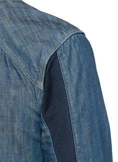 Scotch & Soda 'Mr. Blue' Denim Shirt in Blue for Men   Lyst
