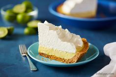 This key lime pie recipe is simple and refreshing.