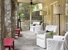 Cottage/Country Exterior/Patio photo by T. Duffy and Associates