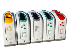 Leco Recycling Afvalemmers : Best Útil images recycling bins upcycling waste container