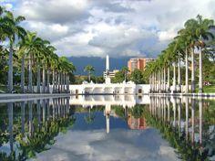 Los próceres Monumento a Los Precursores, Caracas, Venezuela