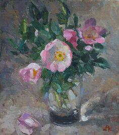 Hoe kan ik wilde rozen te schilderen