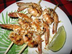 Coconut Lime Shrimp Skewers Recipe - Food.com