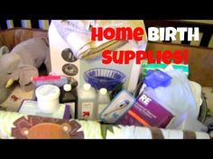▶ Home Water Birth Supplies! - YouTube