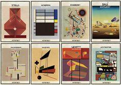 ARTISTECT: Pinturas famosas com detalhes arquitetônicos,Mais recente série de ilustrações de Federico Babina: ARTISTECT