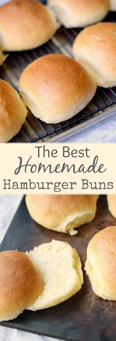 Buns: Cooking 101 This is the one and only recipe for the BEST Homemade Hamburger Buns that you will ever need! This is the one and only recipe for the BEST Homemade Hamburger Buns that you will ever need! Homemade Hamburger Buns, Homemade Buns, Homemade Hamburgers, Homemade Recipe, Hamburger Roll Recipe, Hamburger Bun Recipe Bread Machine, Hamburger Casserole, Homemade Vanilla, Homemade Breads