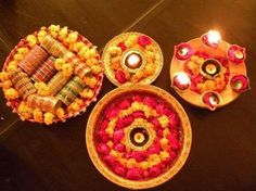 Mehndi Plates Uk : Indian wedding decor perhaps rangoli instead of the traditional
