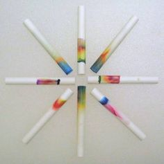 All you need for this quick and easy chromatography project is some chalk, markers and rubbing alcohol.