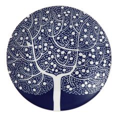 Looking for the best price on Royal Doulton - Fable Accent Blue Tree Small Plate? Try Peter's of Kensington, Sydney Australia. Why in the world would you shop anywhere else for Royal Doulton? Tree Patterns, Print Patterns, Red Tree, Liberty Print, Royal Doulton, Old And New, Pattern Design, Edge Design, Surface Design