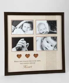 This Brown Baby Collage Frame by Havoc Gifts is perfect! #zulilyfinds