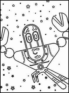 Paprika 9 Printable coloring pages for kids
