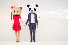 Janet and Darrells Whimsical Engagement Shoot
