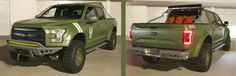 "Ford has built a custom F-150 ""Sandcat"" to promote the upcoming release of the Halo 5 video game!"