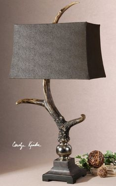 The Stag Horn Lamp h