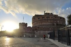 Castel Sant'Angelo_Roma by GEMMA_P_, via Flickr