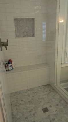 Design by Black Dog Design House Residential Interior Design, Commercial Interior Design, Commercial Interiors, Interior Design Services, Master Shower, Master Bathroom, Dog Design, House Design, Construction Contractors