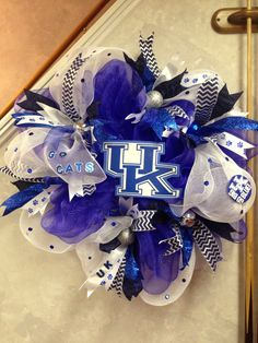 UK Wreath for YMCA Silent Auction 2015