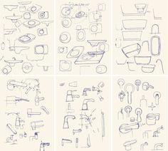Marc Newson Sketches!!