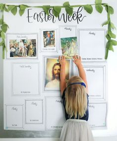 Easter Week (English version) — Small Seed - Easter Week (English version) — Small Seed Easter Week (English version) — Small Seed Easter We - Easter Bingo, Easter Puzzles, Holy Week Activities, Easter Activities For Kids, Primary Activities, Daily Activities, Toddler Activities, My Father's House, Future House