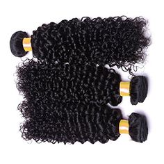 Oriental Show 830 inches 6A Brazilian Jerry Curly Pack of 3Mixed Length 100 Unprocessed Virgin Human Hair 300g Total100g Each Natural Color 18 20 22 -- Read more  at the image link.Note:It is affiliate link to Amazon. #HaiirstlyingAccessories