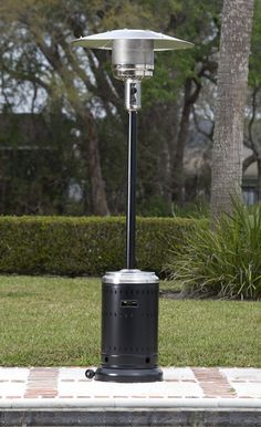 The Well Traveled Living Fire Sense Commercial Propane Patio Heater is an ideal accessory for restaurant patios, parks, and other outdoor venues. Fire Sense Patio Heater, Natural Gas Patio Heater, Propane Patio Heater, Outdoor Heaters, Restaurant Patio, Infrared Heater, Black Stainless Steel, Cool House Designs, Commercial