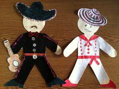 paper dolls for Cultural Awareness