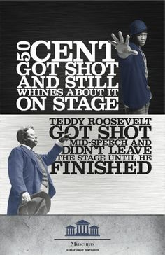 Teddy was a badass.  And fine as hell when he was younger...