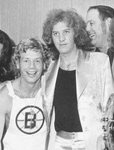 Bill Bruford and David Cross (King Crimson)