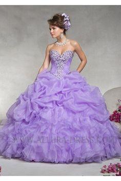 organza ball gown quinceanera dress