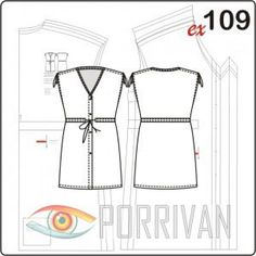 93aad993d238f7a 11 Best Porrivan patterns images | Dress patterns, Sewing patterns ...